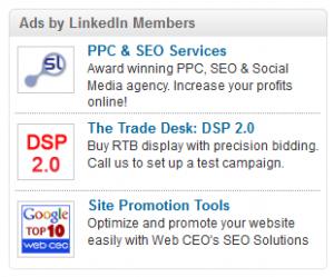 LinkedIn oglasi