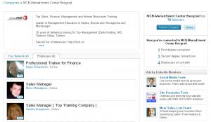 LinkedIn kompanijski profil