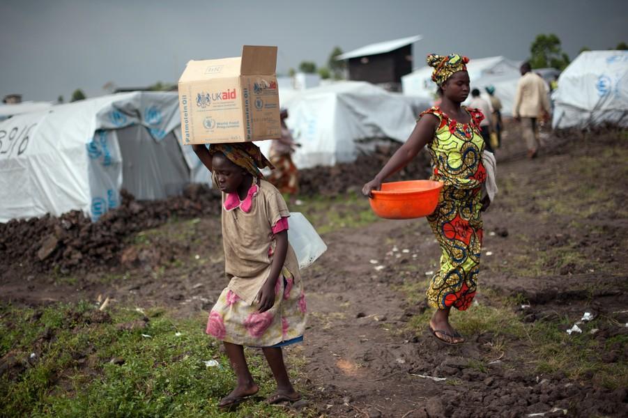 DRCONGO-UNREST-REFUGEES
