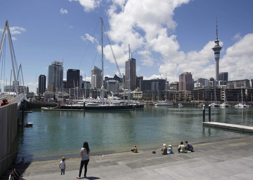 General Images Of Auckland As New Zealand Economic Growth Accelerated