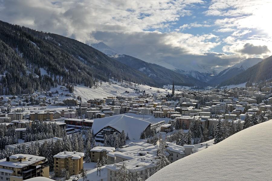 Davos Prepares To Host The World Economic Forum
