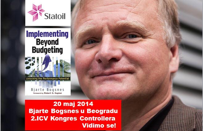 "Bjarte Gogsnes, autor knjige ""Implementing Beyond Budgeting"""