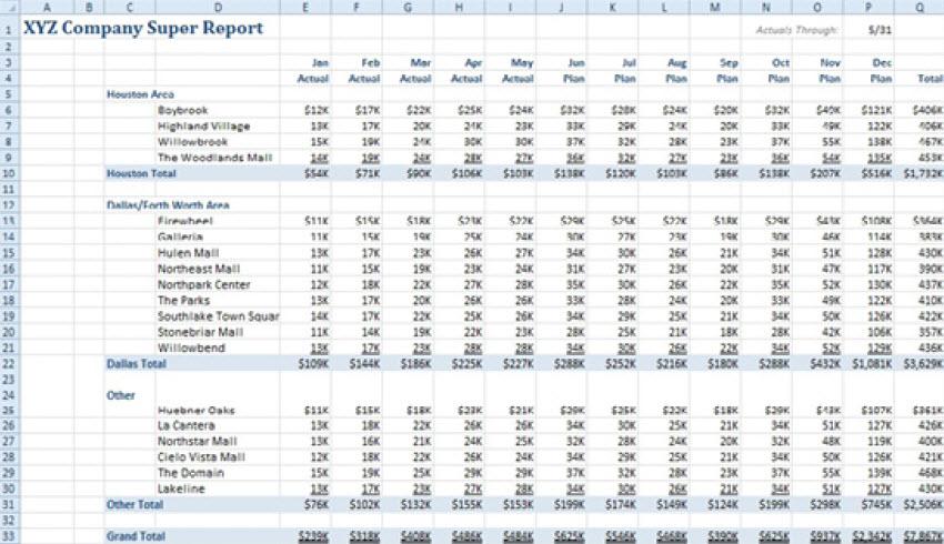 MCB Trikovi u Excelu (305)
