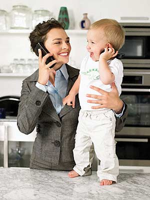 business-woman-with-baby