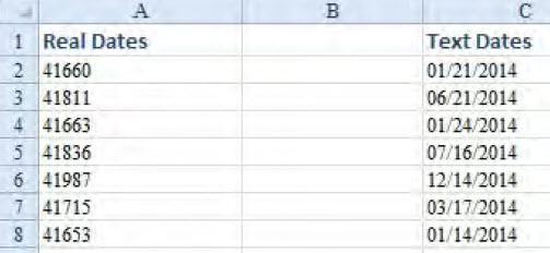 Kako mogu da prepoznam da li imam datume u formatu datuma