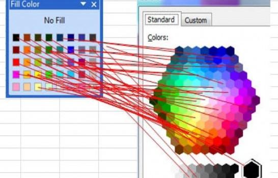 boje iz Excel-a 2003