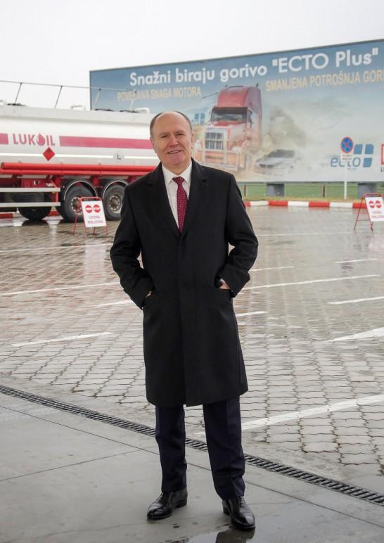 Andrej Kuku, Generalni direktor, Lukoil Srbija AD