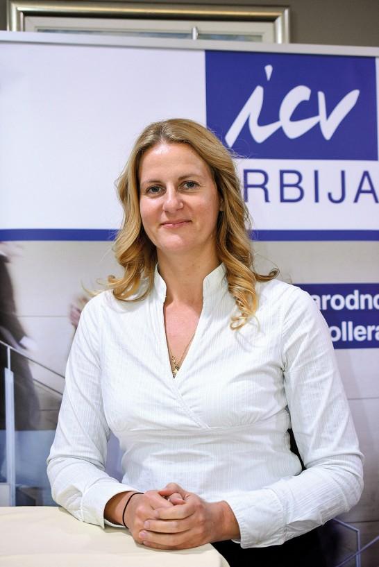 Irina Zdravković, Direktor za marketing i komunikacije, Bisnode