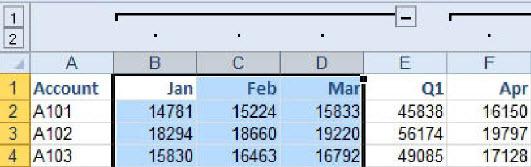 Grupisanje u Excel-u