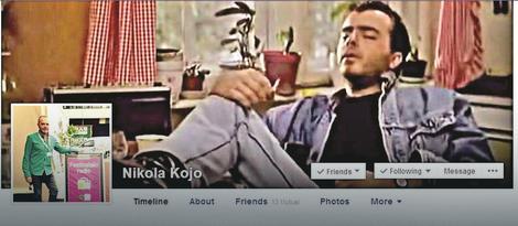 Profil na društvenim mrežama