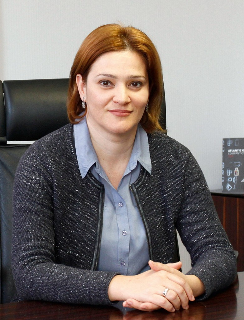 Elizabeta Mirčevska,HR director,Atlantic group