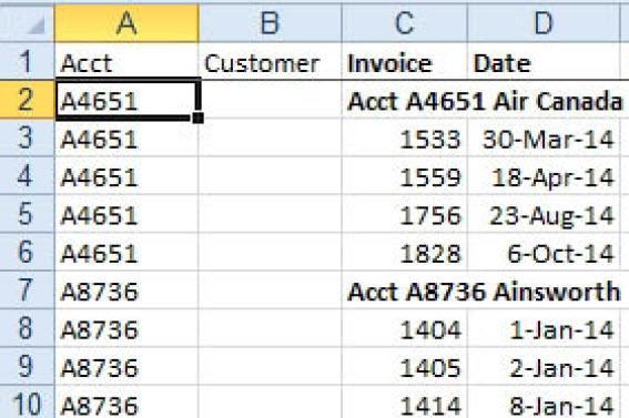 MCB Trikovi u Excelu (101)