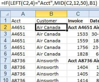MCB Trikovi u Excelu (102)