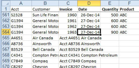 MCB Trikovi u Excelu (103)