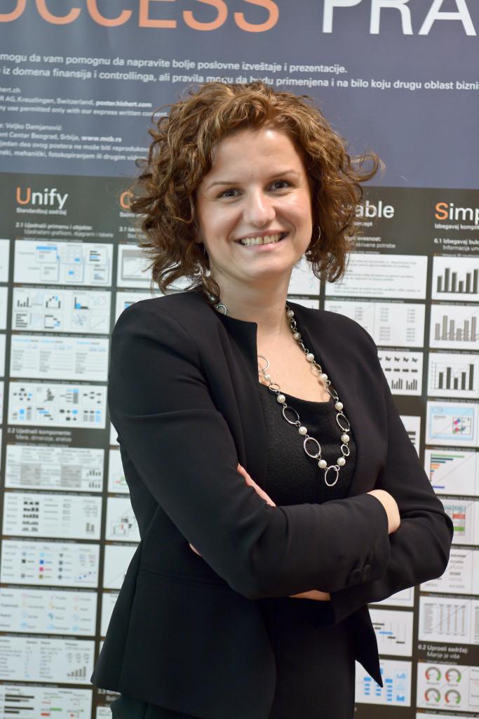 Katarina Čevriz, Head of controlling, Asseco SEE