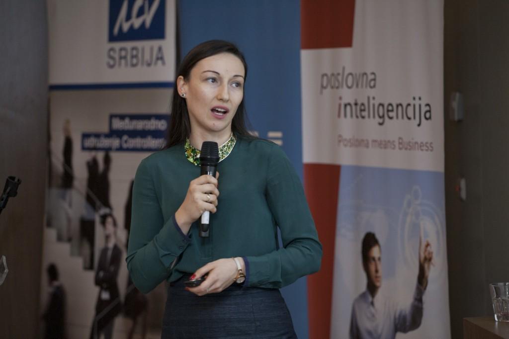 Mina Mićanović, direktor, Poslovna Inteligencija