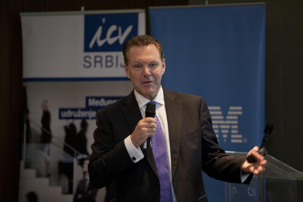 Mark Rolfe, Leader Europian Financial PM, IBM