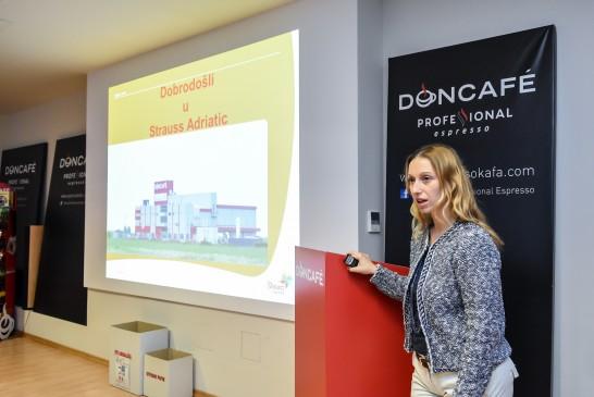 Zorica Đorđević, tehnolog u proizvodnji, STRAUSS ADRIATIC