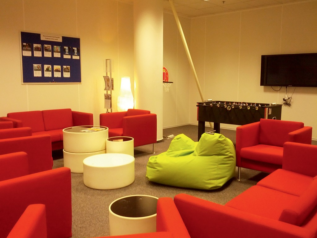 MCB blog-Controlling magazin 04-Relaxing room  in shared service center