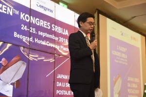Tecuja Cubota, savetnik u ambasadi Japana u Srbiji