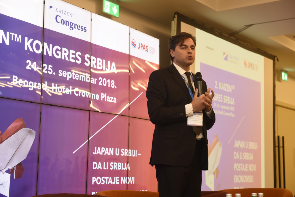Goran Pekez, direktor korporativnih poslova i komunikacija za Zapadni Balkan JT International, predsednik JAPANSKE POSLOVNE ALIJANSE U SRBIJI