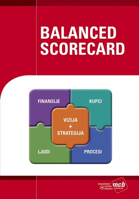 Knjiga Balanced Scorecard