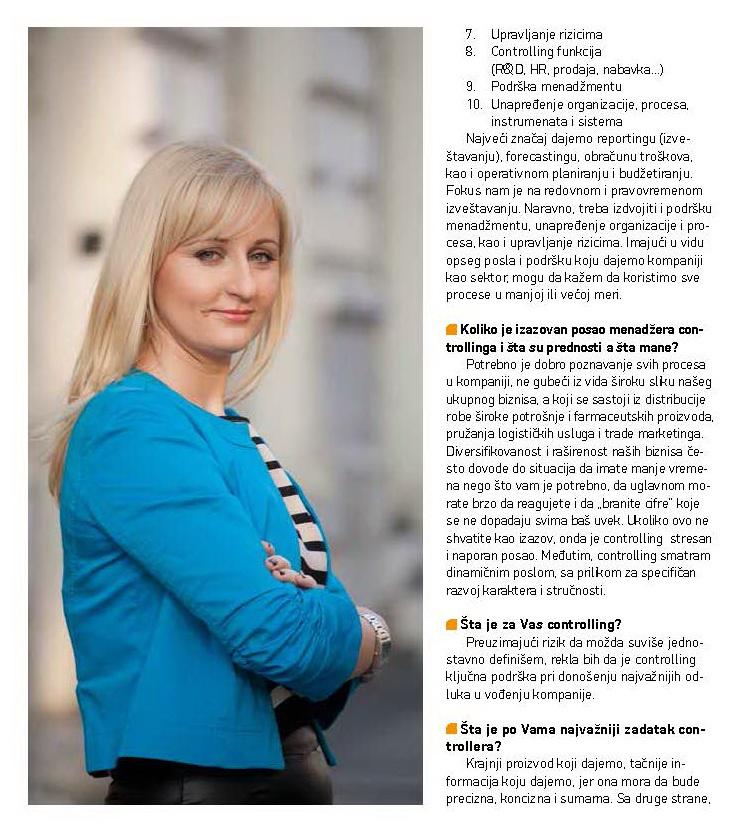 Marijana Krička, Intervju
