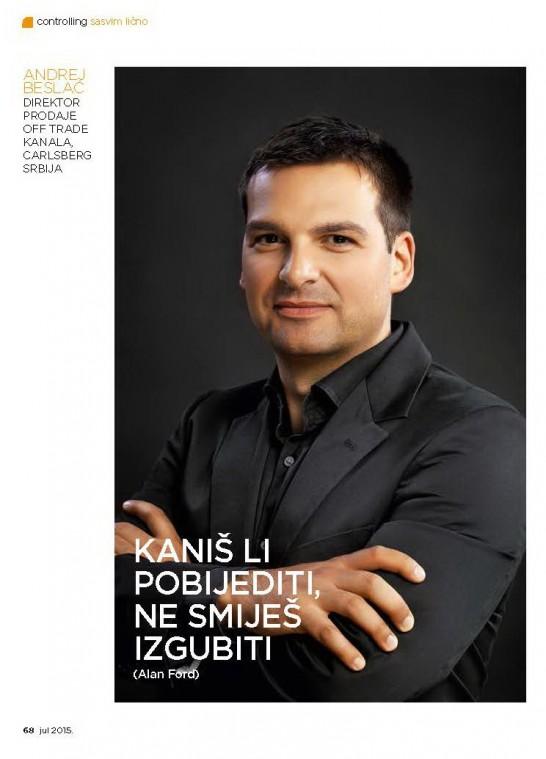 Andrej Beslać, direktor OFF trade kanala, Carlsberg