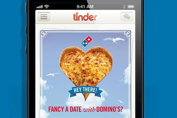 Dominos tinder profil