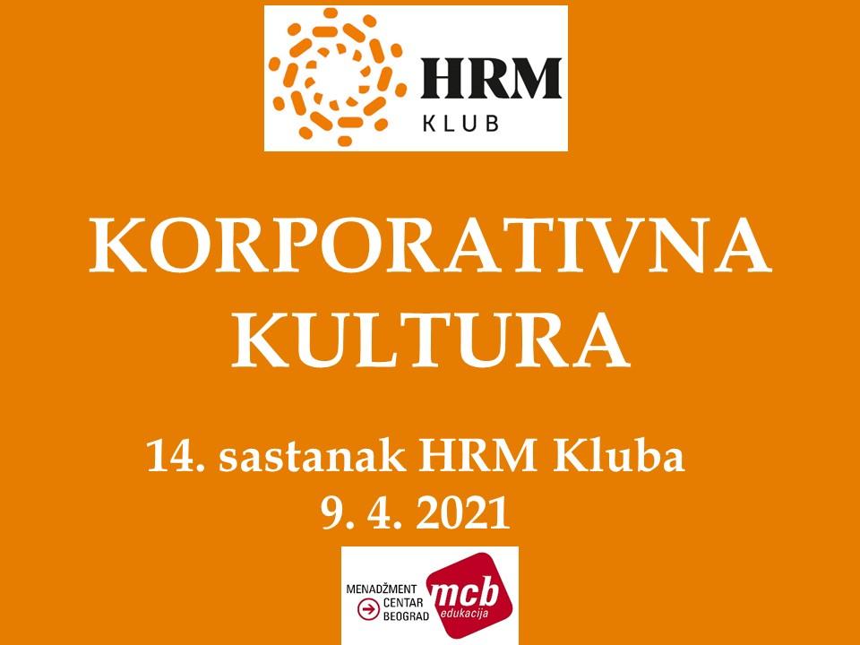 2021-04-09  HRM#14 (KORPORATIVNA KULTURA)