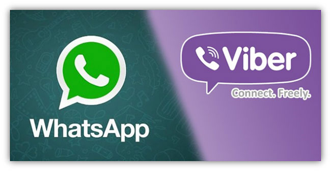 Two-Messaging-Giants-Whatsapp-And-Viber